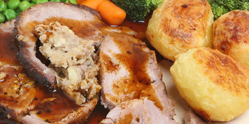 Roasted Stuffed Pork