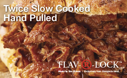Fully Cooked pulled Protein Solutions From Stampede Meat