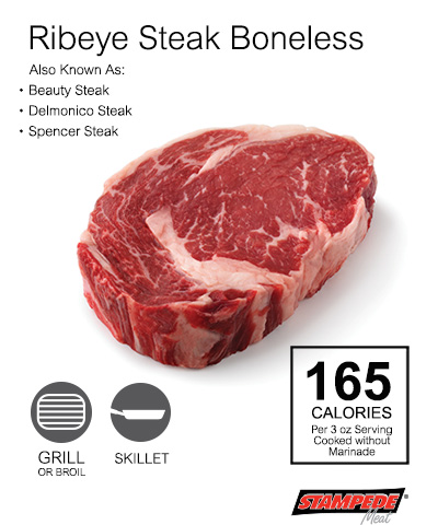 Ribeye Steak Boneless