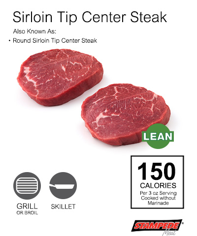 Sirloin Tip Center Steak