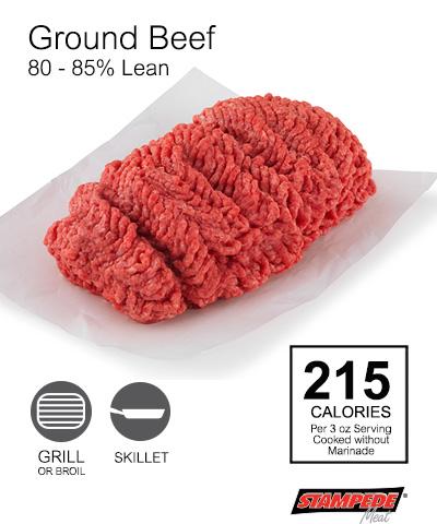 Ground Beef 80%-85%